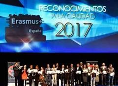 RECONOCIMIENTOS A LA CALIDAD ERASMUS+ 2017