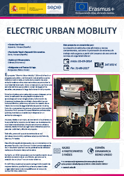 Electric urban mobility