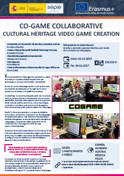 CO-GAME Collaborative cultural heritage video game creation