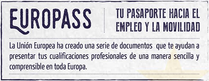 Infografía Europass y el empleo