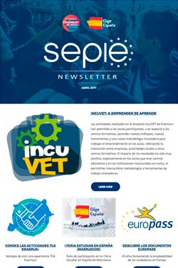 Newsletter de abril 2017